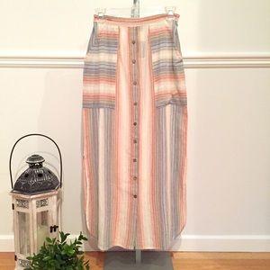 Dresses & Skirts - NEW LONG SKIRT COTTON XS SPRING SUMMER TRENDY BOHO